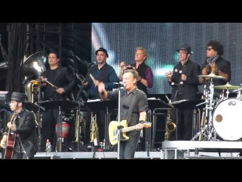 "BRUCE SPRINGSTEEN - ""Born In The USA"" live Stade de France, Paris, France 29/06/2013"