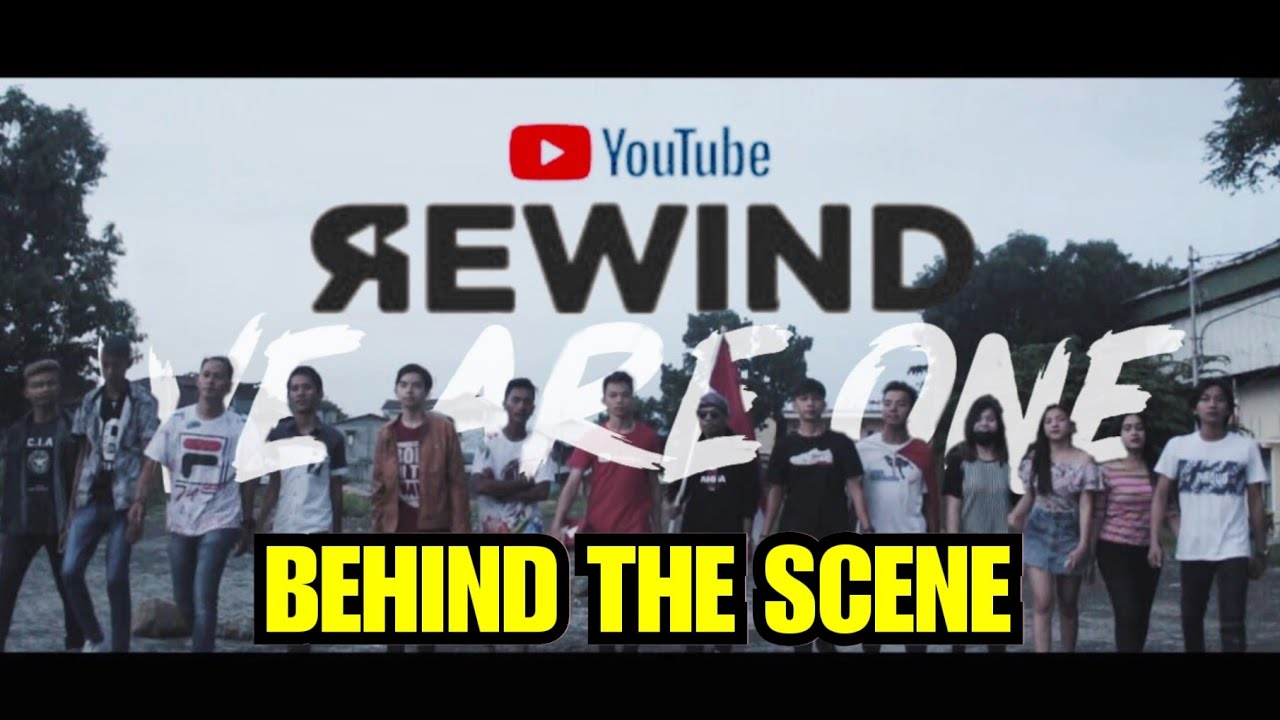 Behind The Scene : Youtube Rewind Indonesia - Manado 2019 : We Are One
