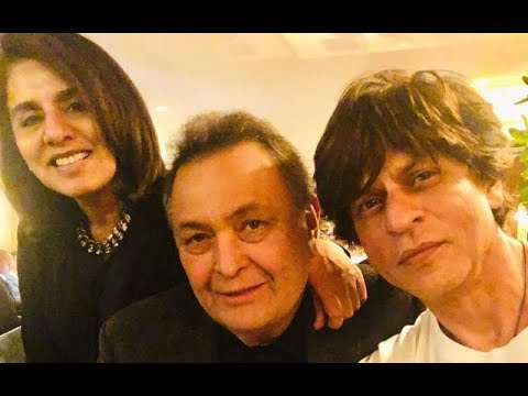 Shah Rukh Khan Pays Visit To Rishi Kapoor In New York Mp3