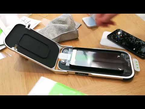 iPhone X screen protector  Belkin Invisiglass Ultra screen protection   Installation