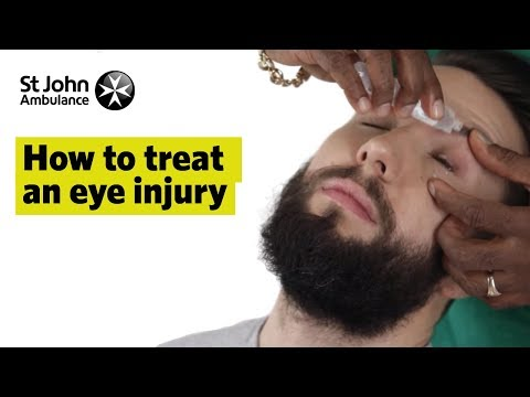 How to Treat An Eye Injury - First Aid Training - St John Ambulance