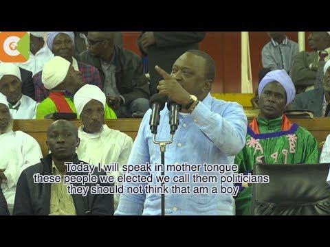 President Uhuru Kenyatta blasts Deputy President William Ruto's allies
