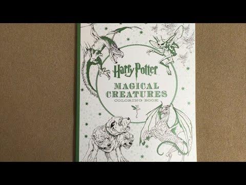 harry-potter-magical-creatures-coloring-book-flip-through