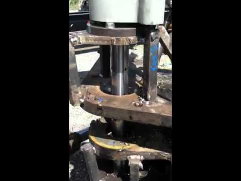 Linebore Timbco logging machine center section