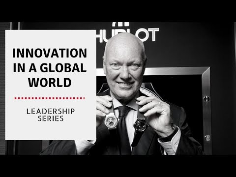 Leadership Series #11: Innovation in a global world - Jean Claude Biver