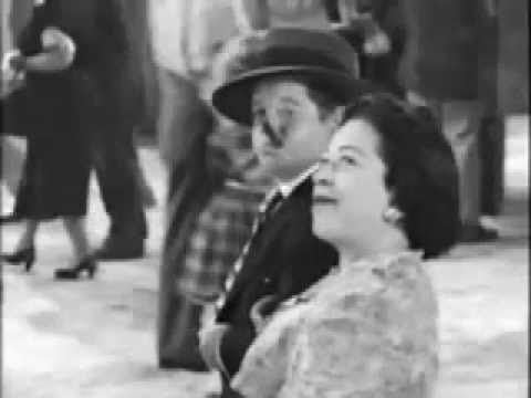 "Luz Potter & Billy Curtis in "" The Great Gildersleeve"""