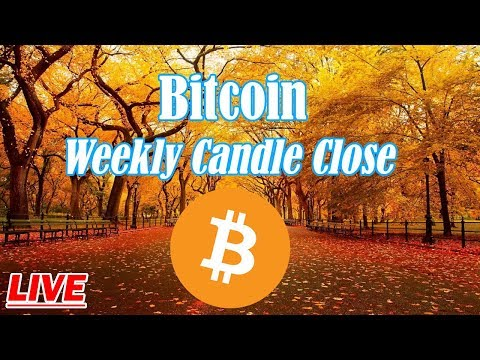Bitcoin : Weekly Candle Close For BTC. Episode 687 - Crypto Technical Analysis