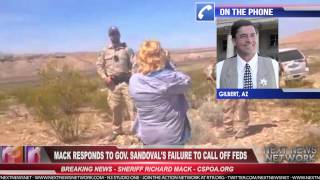 Sheriff Mack Responds Federal Terrorism at Bundy Ranch