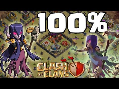 17 HEXEN - 100% TAKTIK! || CLASH OF CLANS || Let's Play CoC [Deutsch/German HD+]