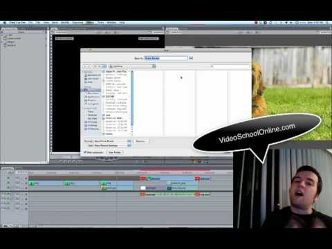 BEST Final Cut Pro 7 Export Settings for Youtube AND Vimeo - YouTube