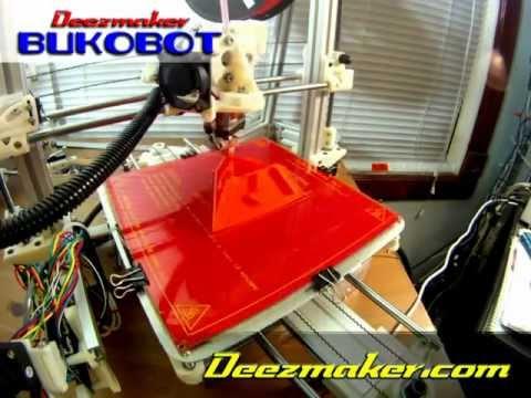 0 - BukoBot 3D Printer: neuer umwelt-freundlicher 3D-Drucker (Update)