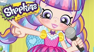 shopkins microphone fun   cartoons for kids   toys for kids   shopkins cartoon