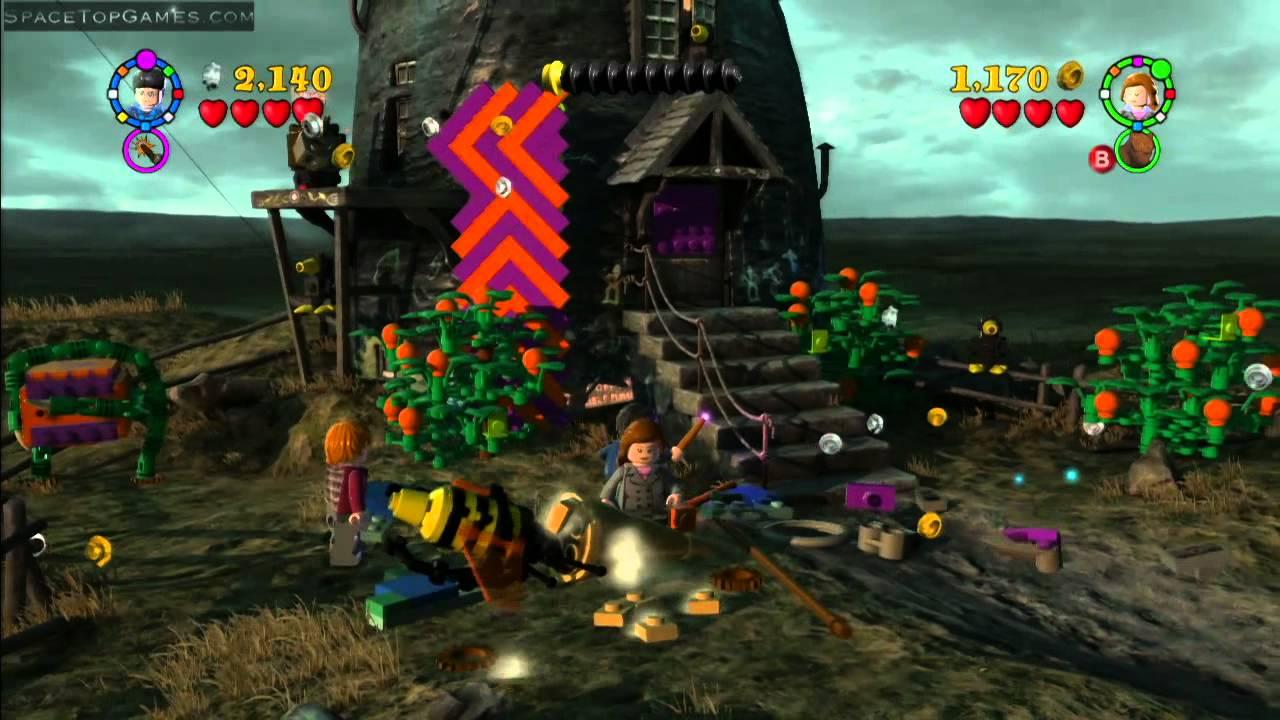 Lego Harry Potter Years 5 7 Walkthrough Part 31 Year 7 Part 1 Lovegood S Lunacy 1 2 Youtube
