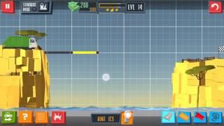 Build a Bridge Level 14 Android 3 star walkthrough