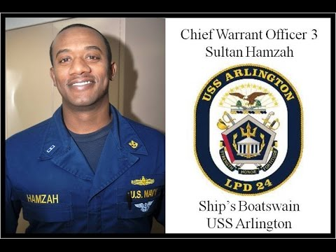 Chief Warrant Officer 3 Sultan Hamzah Reference - YouTube