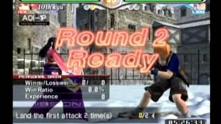 Virtua Fighter 4 Evolution Arcade Run