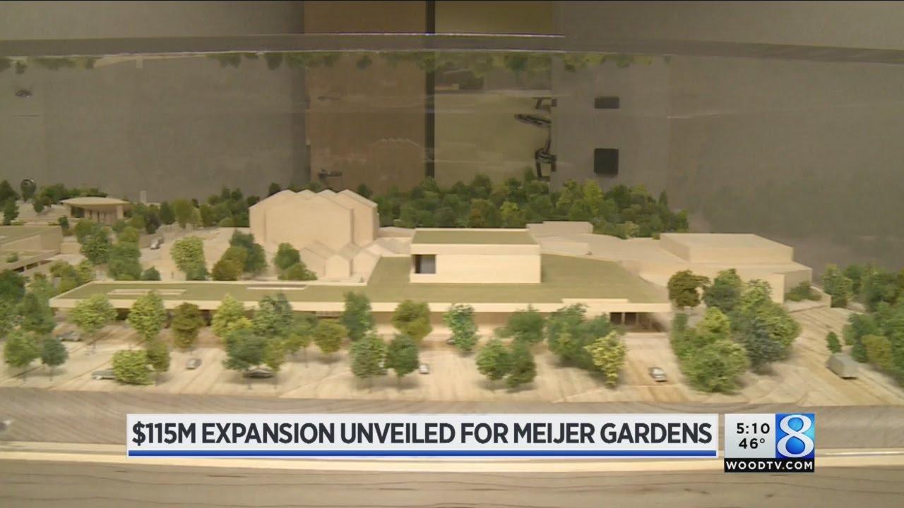 Frederik Meijer Gardens reveals $115M expansion plans - YouTube