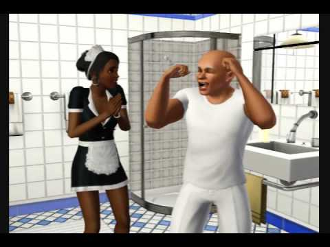 mr clean commercial the sims 3 style
