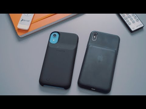 Battery Case Showdown: Apple's Smart Case vs. Mophie's Juice Pack Access