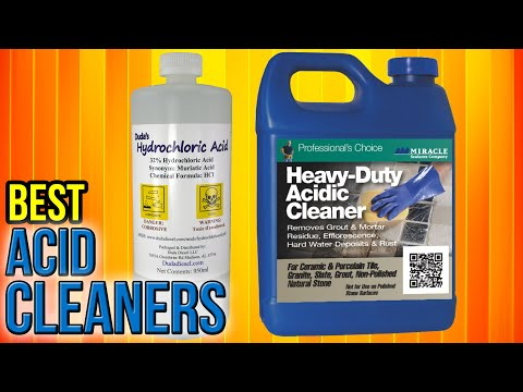 8 Best Acid Cleaners 2017