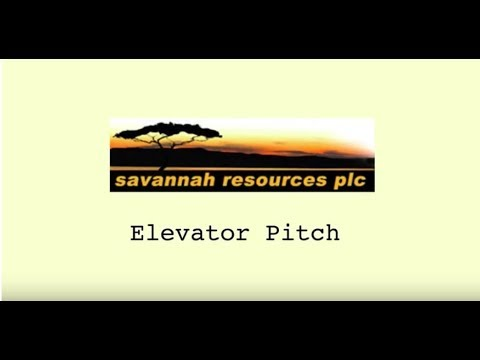 Savannah Resources Elevator Pitch