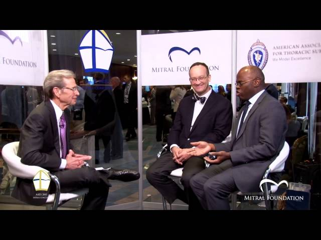 AATS Mitral Conclave 2015 | Thought Leaders | Thoraf Sundt & Anelechi Anyanwu