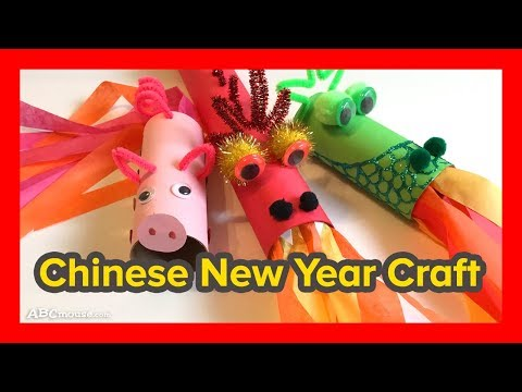 Art Activity for Kids: Chinese New Year Craft