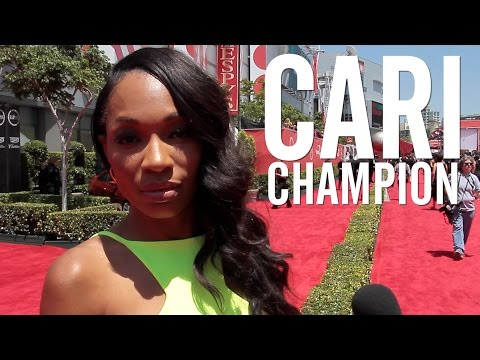 Newest SportsCenter Anchor Cari Champion Talks Caitlyn Jenner ...