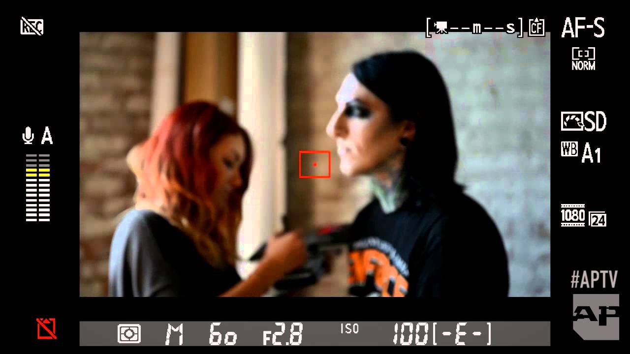 Behind The Scenes Of Motionless In Whites Ap Cover Shoot Youtube