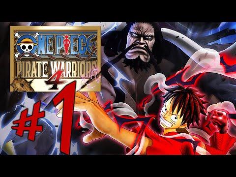 One Piece Pirate Warriors 4 - Parte 1: Luffy VS Kaido!!!!!!! [ Xbox One X - Playthrough ]