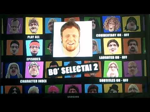 DVD Opening to Bo Selecta The Complete Series 2 Disc One UK DVD