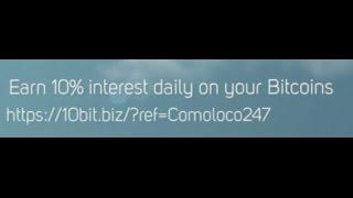Earn 10% Interest Daily on Bitcoins