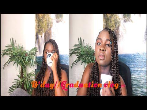 birthday-&-highschool-graduation-vlog//chitchat-☕️