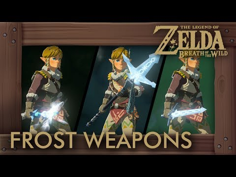 Zelda Breath of the Wild - All Frost Weapons (Complete Set Location)