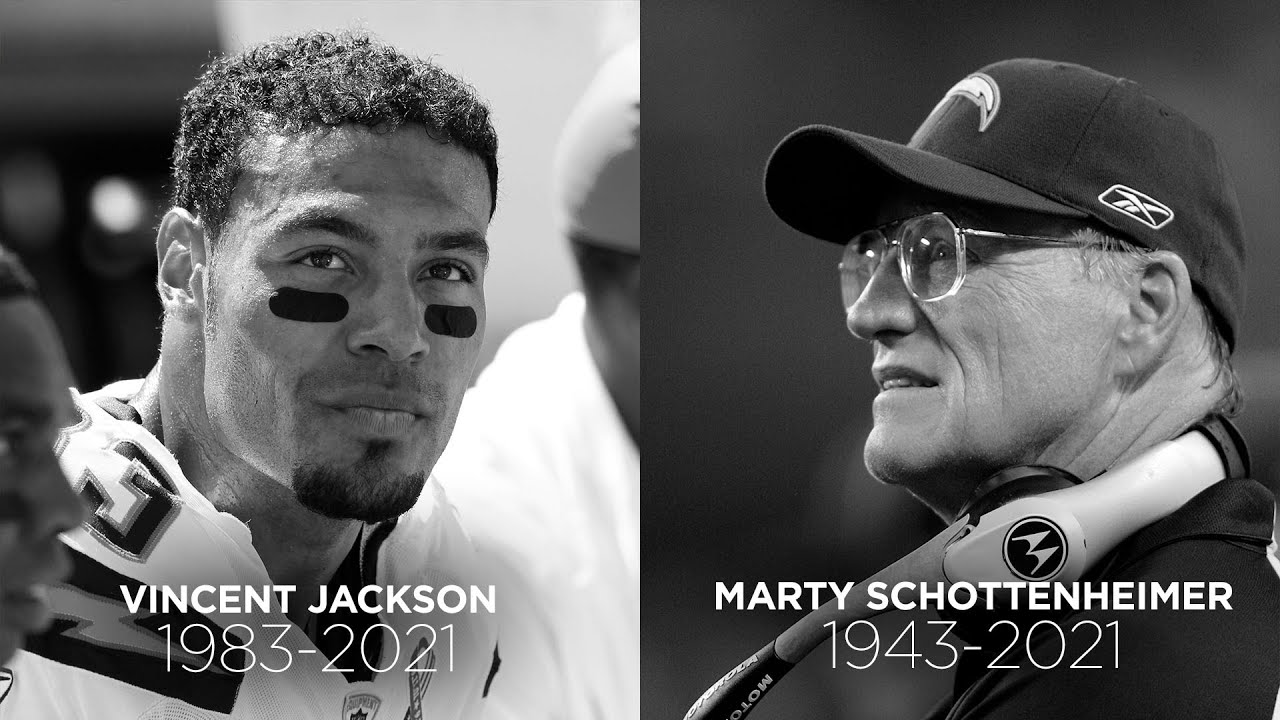 Chargers Legends Remember Marty Schottenheimer and Vincent Jackson