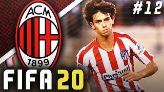CAN JOAO FELIX REPLACE ZLATAN?! - FIFA 20 AC Milan Career Mode EP12