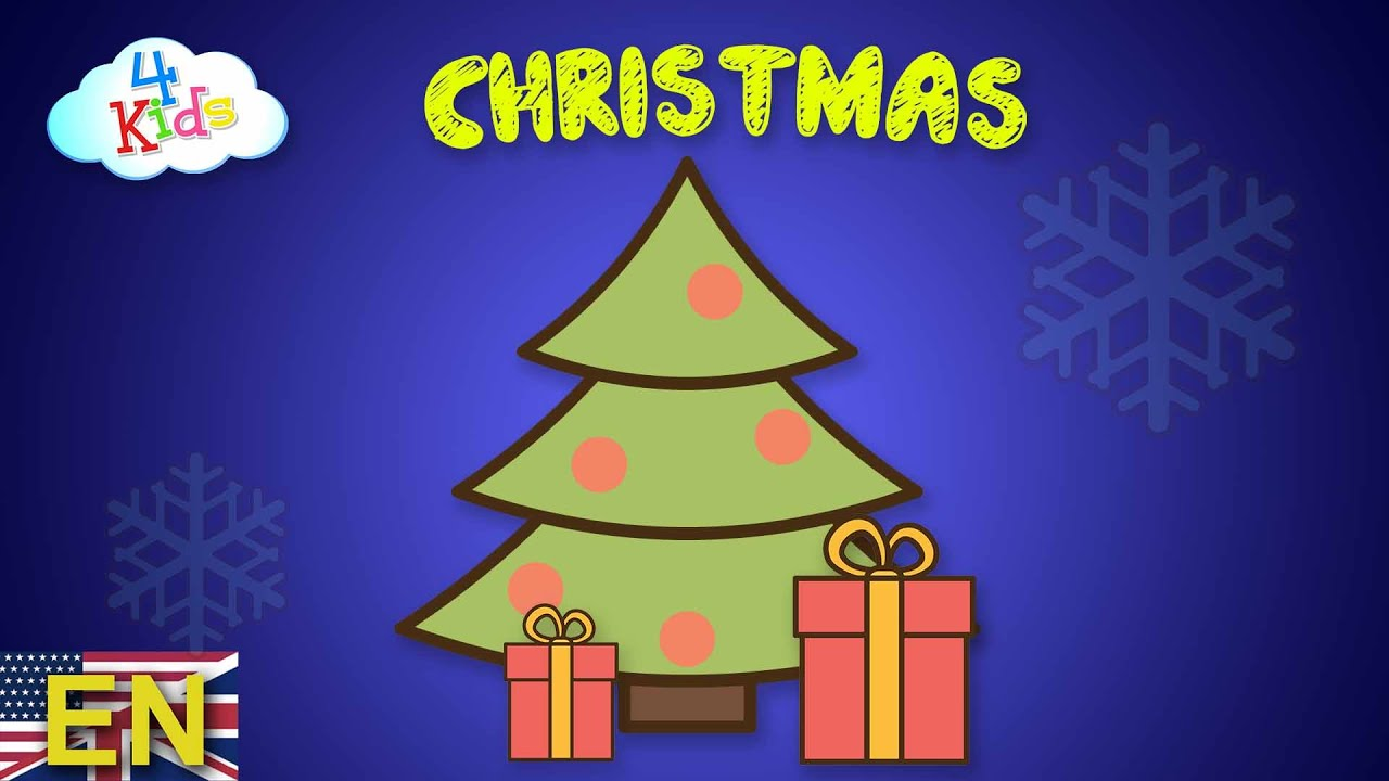 christmas learning video for children and toddlers xmas and
