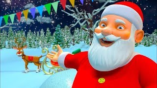 Jingle Bells | Christmas Songs for Children | Xmas Songs for Kids | Cartoons - Little Treehouse