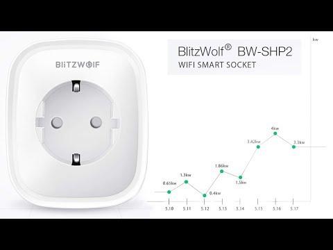 Smart Plug BlitzWolf BW-SHP2 - la nostra prova - YouTube