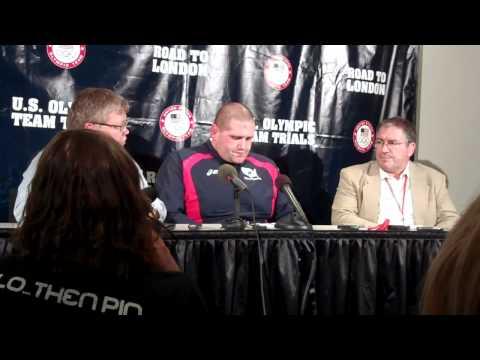 Rulon Gardner Press Conference, 4-21-12
