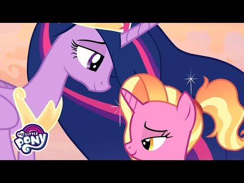 'Luster Dawn Learns About Friendship' 💡 Official Clip MLP: Friendship Is Magic Season 9
