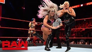 Asuka & Dana Brooke vs. Alexa Bliss & Mickie James: Raw, April 2, 2018