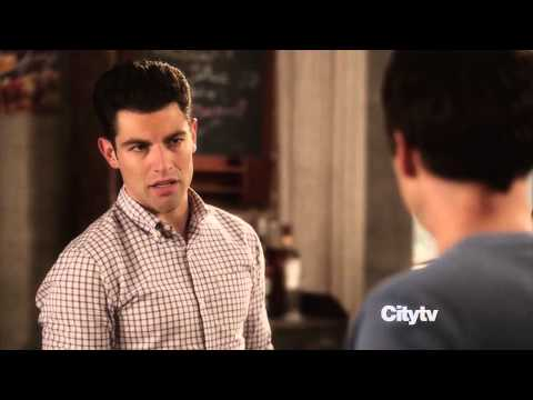 New Girl 2x5 - Cookie Scene