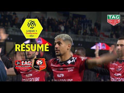 EA Guingamp - Stade Rennais FC ( 2-1 ) - Résumé - (EAG - SRFC) / 2018-19