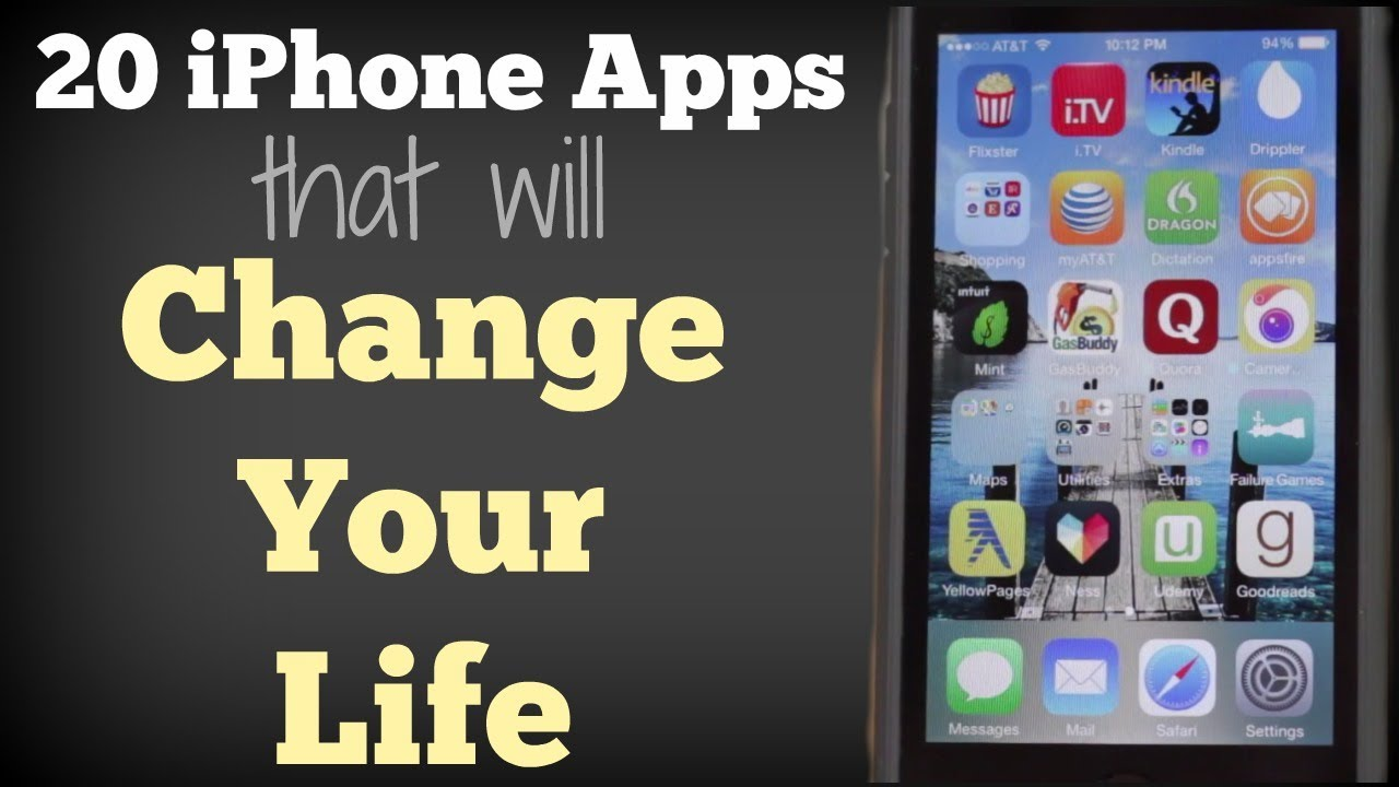 20 IPhone Apps That Will Change Your Life