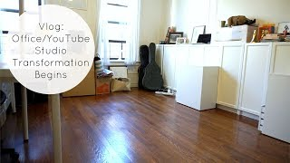 Office / YouTube Studio Transformation Begins + Blogger Events