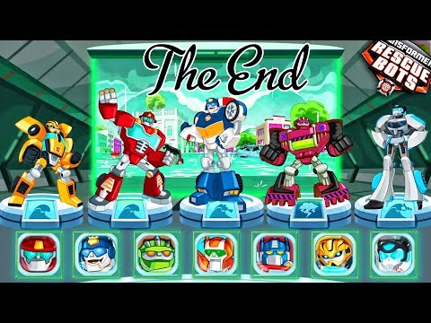 Transformers Rescue Bots: Disaster Dash GamePlay #2