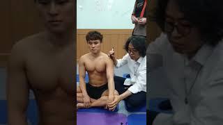 오십견 회전근개파열 어깨 카이로프라틱 수기치료법