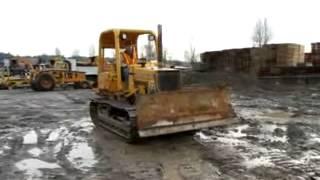 Sold! John Deere 400G Tractor Crawler Bull Dozer 6-Way 90