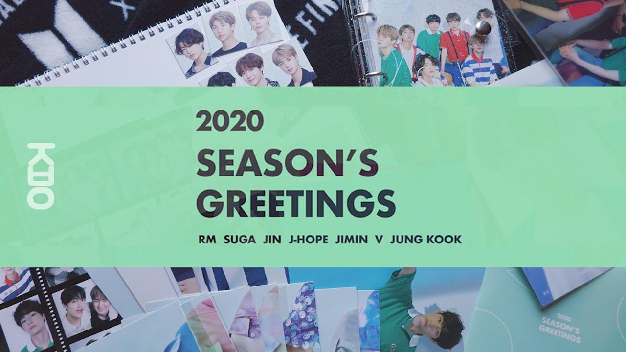 [ UNBOXING ] 4K 방탄소년단 BTS 2020 SEASON'S GREETINGS